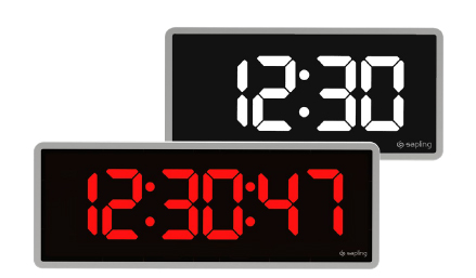 Digital Time Zone Clock